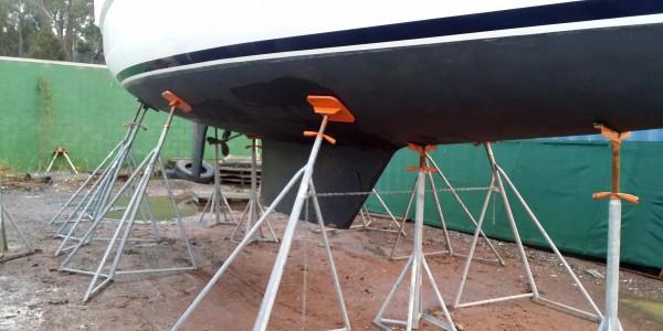 Andromeda - Margate Marina Shipyard Usage