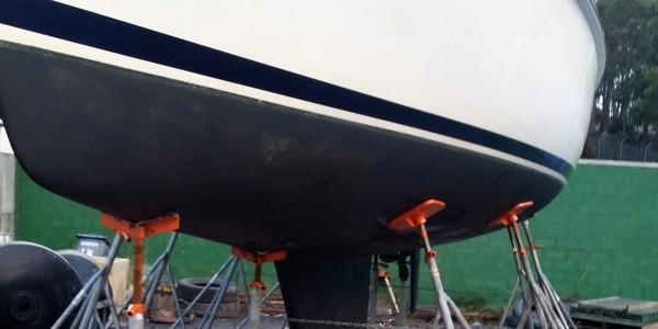 Andromeda - Margate Marina Slipyard Usage